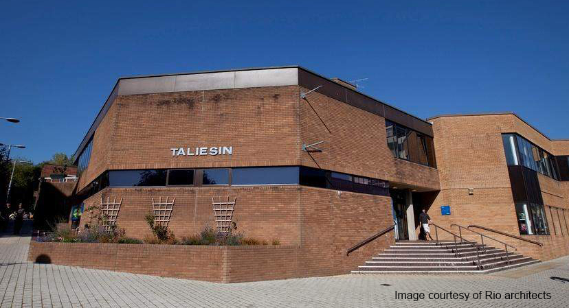Refurbishment and new facilities for Taliesin House and the Talbot